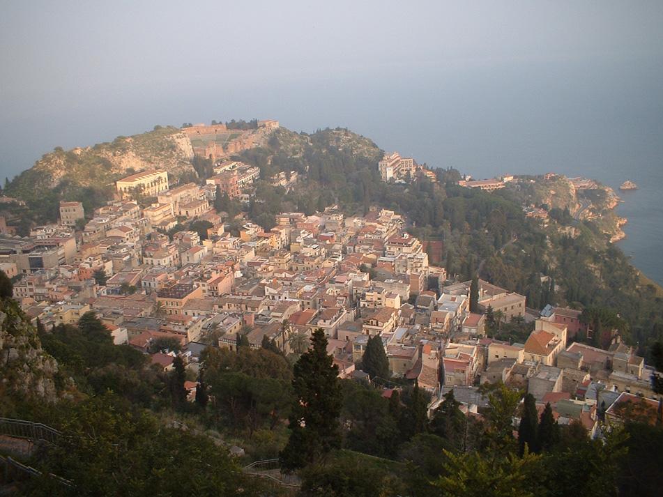 La città di Taormina