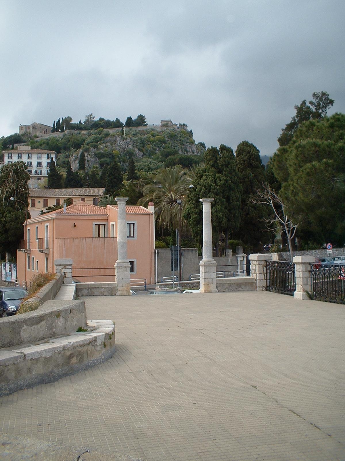 Piazza Belvedere Scopritaormina Com